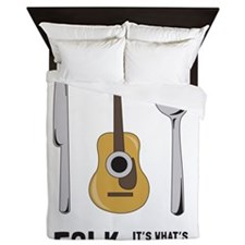 Its Whats For Dinner Queen Duvet