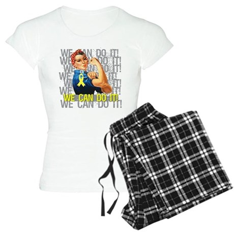 Rosie The Riveter Osteosarcoma Pajamas