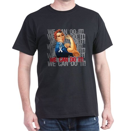 Rosie The Riveter Mesothelioma T-Shirt