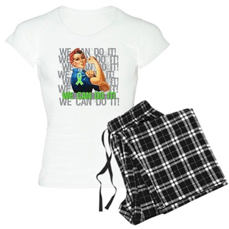 Rosie The Riveter Lymphoma Pajamas