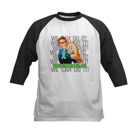 Rosie The Riveter Lymphoma Baseball Jersey
