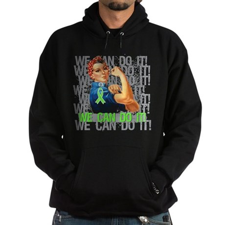 Rosie The Riveter Lymphoma Hoodie