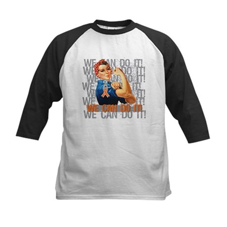 Rosie The Riveter Leukemia Baseball Jersey