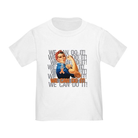 Kidney Cancer Rosie Riveter T-Shirt