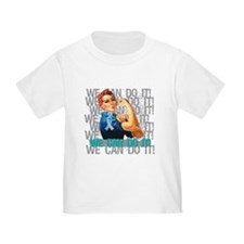 Rosie The Riveter Thyroid Cancer T-Shirt
