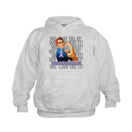 Rosie The Riveter General Cancer Hoodie