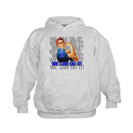 Rosie Riveter Colon Cancer Hoodie