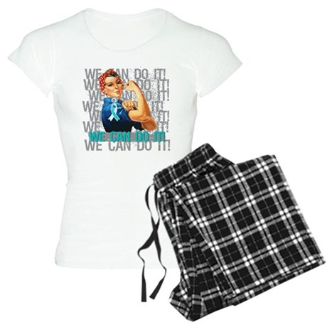 Rosie Riveter Cervical Cancer Pajamas