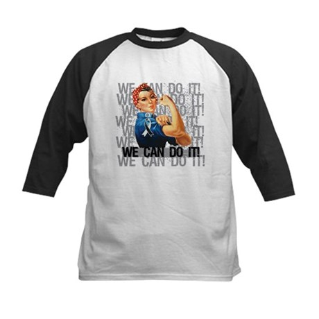 Rosie Riveter Carcinoid Cancer Baseball Jersey