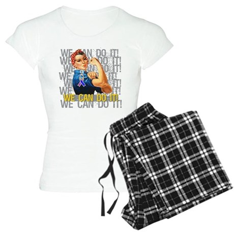 Rosie The Riveter Bladder Cancer Pajamas