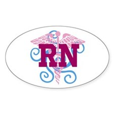 RN Swirl Decal