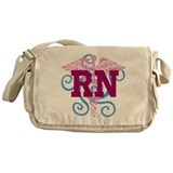 RN swirl Messenger Bag