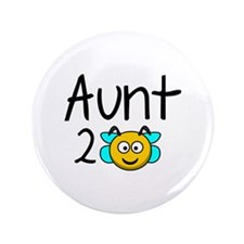 "Aunt 2 Bee 3.5"" Button (100 pack)"