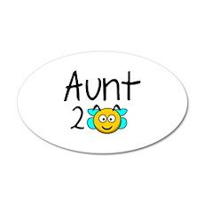 Aunt 2 Bee 22x14 Oval Wall Peel