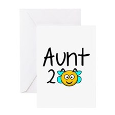 Aunt 2 Bee Greeting Card
