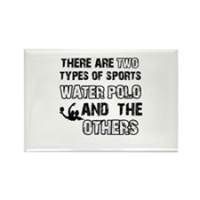Waterpolo designs Rectangle Magnet (10 pack)