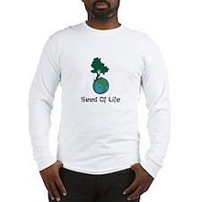 Cute Plant a tree Long Sleeve T-Shirt