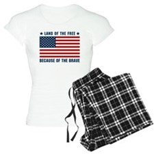 Land of the Free Flag pajamas