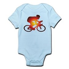 Sunset Bicycle Rider Body Suit