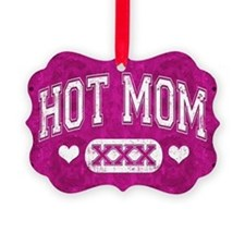 Hot Mom Pink Ornament