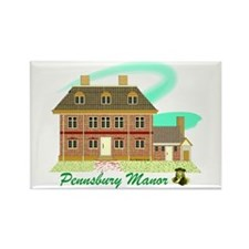 Pennsbury Manor Rectangle Magnet