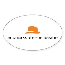 Chairman Of The Board Oval Decal