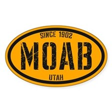Moab Bootcamp Gold Decal