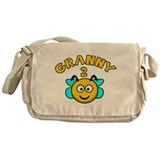 Granny 2 Bee Messenger Bag