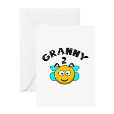 Granny 2 Bee Greeting Card