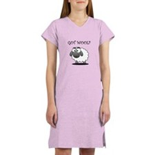 GOT WOOL? Women's Nightshirt
