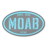 Moab Black Ice Decal