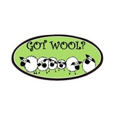 GOT WOOL? Patches