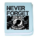 POW/MIA Never Forget baby blanket