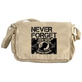 POW/MIA Never Forget Messenger Bag