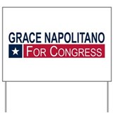 Elect Grace Napolitano Yard Sign