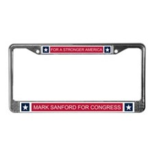 Elect Mark Sanford License Plate Frame