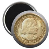 Worlds Columbian Expo Coin 2.25&quot; Magnet (10 pack)