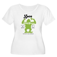 Love them Leafy Greens Plus Size T-Shirt