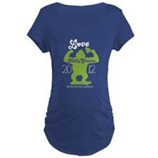 NEW love them leafy greens Maternity T-Shirt