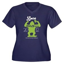 NEW love them leafy greens Plus Size T-Shirt