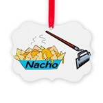 Nacho Hoe Picture Ornament