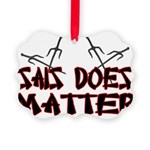 Sais Does Matter Picture Ornament