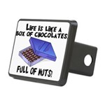 Full Of Nuts Rectangular Hitch Cover