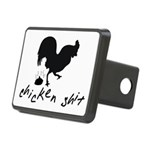Chicken Shit Rectangular Hitch Cover
