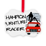 Champion Furniture Racer Picture Ornament