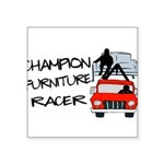 Champion Furniture Racer Square Sticker 3