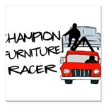 Champion Furniture Racer Square Car Magnet 3