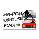 Champion Furniture Racer Rectangle Car Magnet