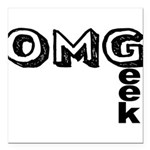Oh My Geek Square Car Magnet 3