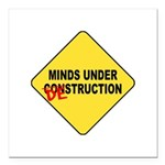 Mind Destruction Square Car Magnet 3
